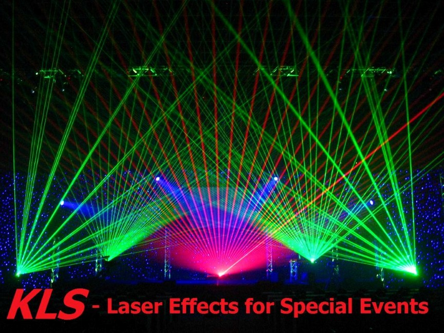 Laser Effects for Special Events